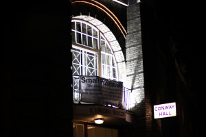 Conway Hall at night