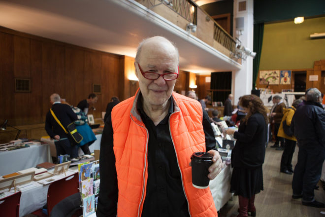 Jan Voss at the 2017 Small Publishers Fair