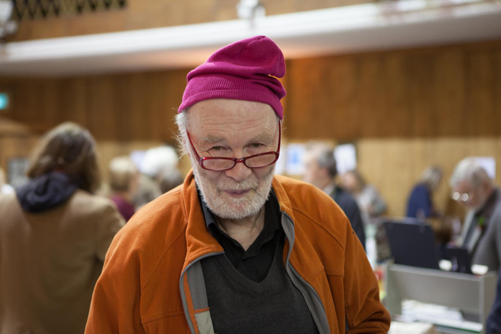 Jan Voss at the 2017 Small Publishers Fair.