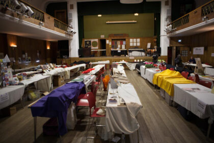 Empty Conway Hall